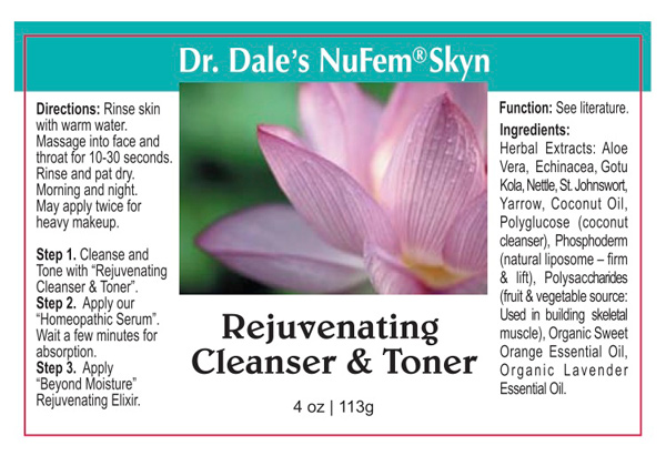Rejuvenating Cleanser & Toner